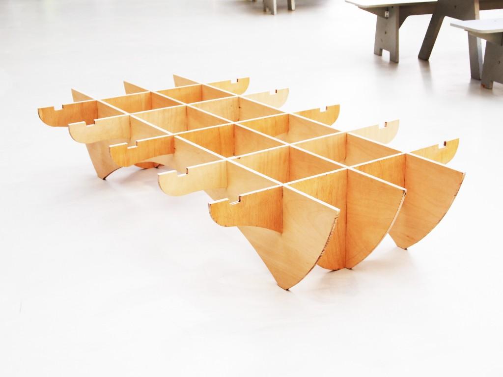 Parasol bed